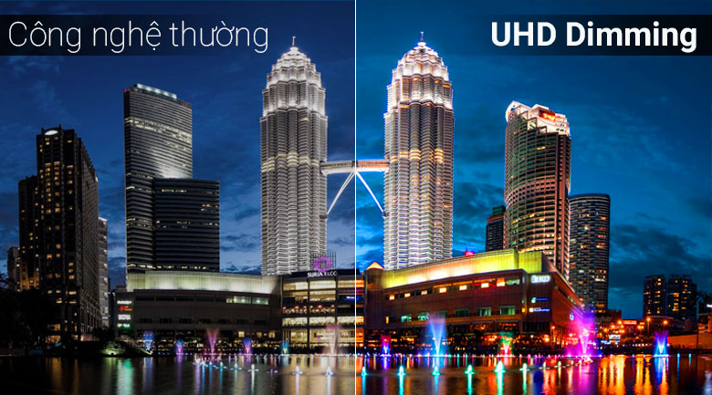 Công nghệ UHD Dimming - Smart Tivi QLED Samsung 4K 65 inch QA65Q70TAKXXV