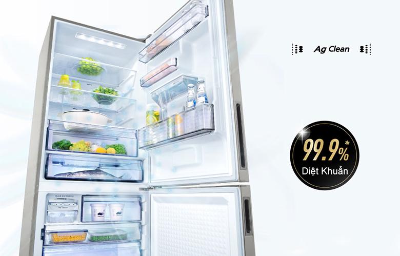 kháng khuẩn ag clean - Tủ lạnh Panasonic Inverter 368 lít NR-BX410WPVN