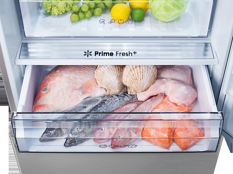 ngăn đông mềm - Tủ lạnh Panasonic Inverter 368 lít NR-BX410WPVN