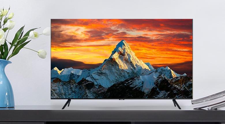 Thiết kế sang trọng - Smart Tivi Samsung 4K 65 inch UA65TU8100KXXV