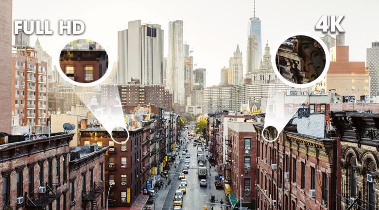 Độ phân giải UHD 4K - Smart Tivi Samsung 4K 50 inch UA50TU8100KXXV