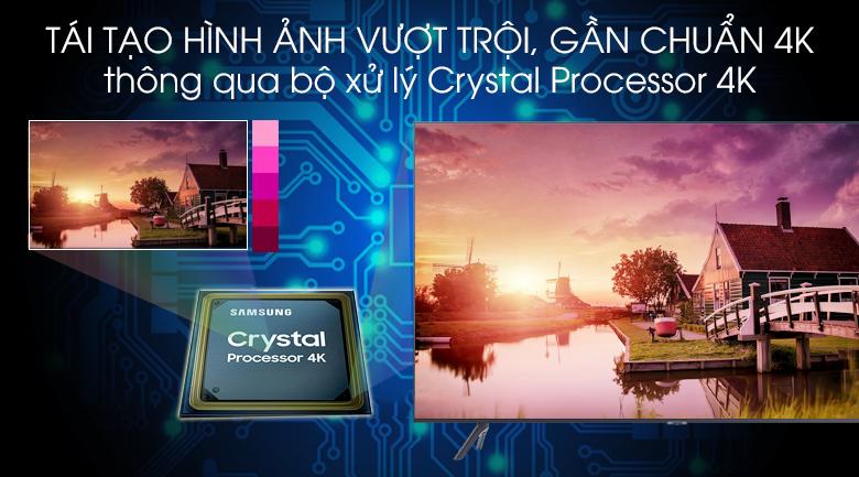 Bộ xử lý Crystal Processor 4K - Smart Tivi Samsung 4K 50 inch UA50TU8100KXXV