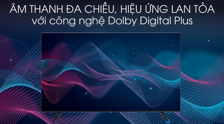 Trải nghiệm âm thanh mạnh mẽ - Smart Tivi Samsung 4K 65 inch UA65TU8100KXXV