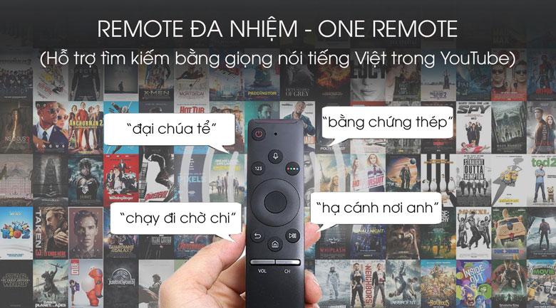 Ứng dụng One Remote đa nhiệm - Tivi QLED Samsung 55Q80T