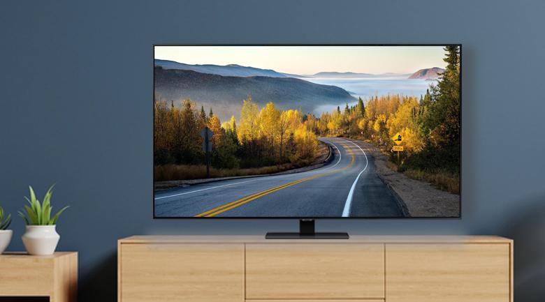 Thiết kế hiện đại tràn viền 4 cạnh - Smart Tivi QLED Samsung 4K 65 inch QA65Q80TAKXXV