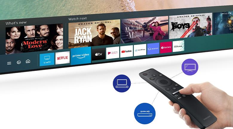 One Remote đa nhiệm - Smart Tivi QLED Samsung 8K 65 inch QA65Q800TAKXXV