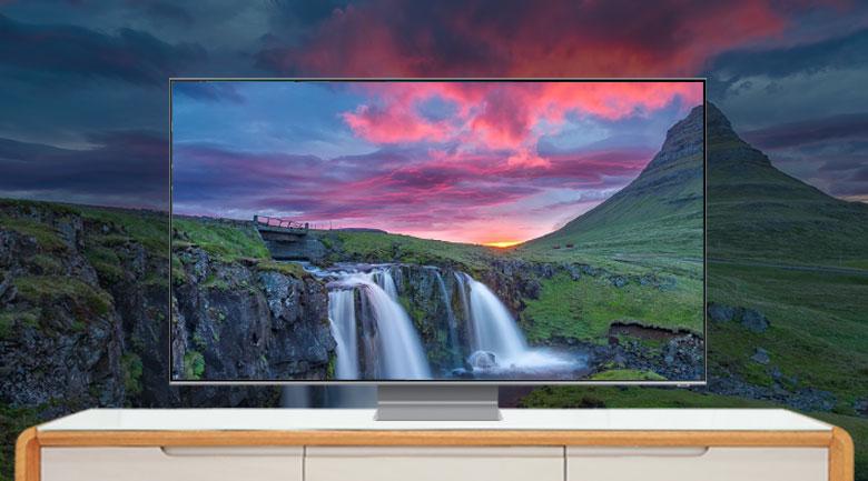 Thiết kế tinh tế - Smart Tivi QLED Samsung 8K 75 inch QA75Q800TAKXXV