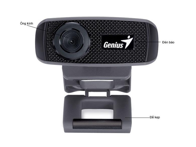 ảnh mô tả-Webcam Genius FaceCam 1000X V2