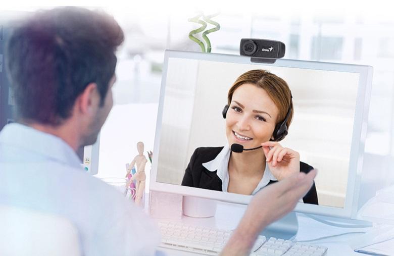 âm thanh-Webcam Genius FaceCam 1000X V2