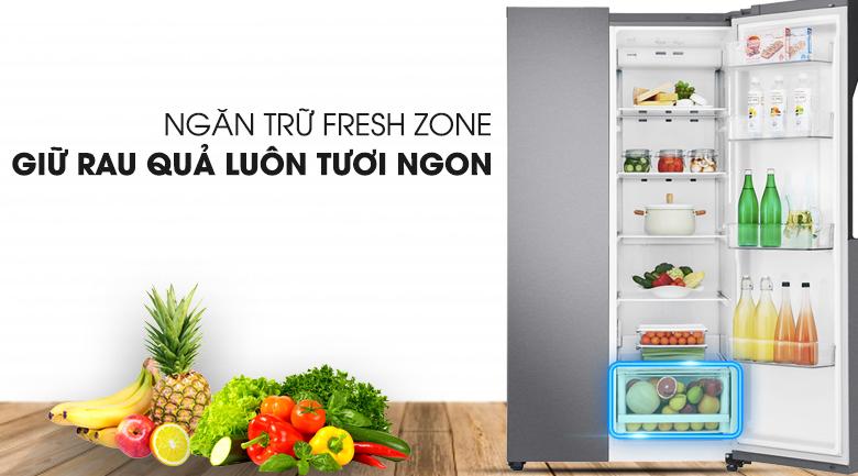 Sửa Tủ lạnh  LG SBS Inverter