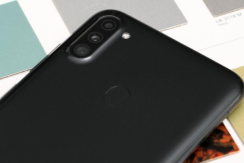 camera- điện thoại Samsung Galaxy A11 3GB/32GB Đen