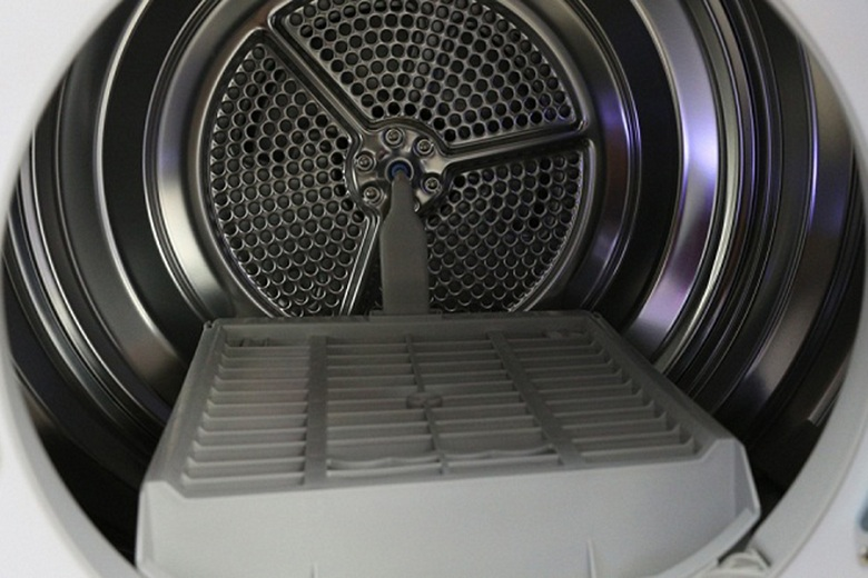 Giá sấy tiện dụng- Máy sấy ngưng tụ LG 8 kg DR-80BW