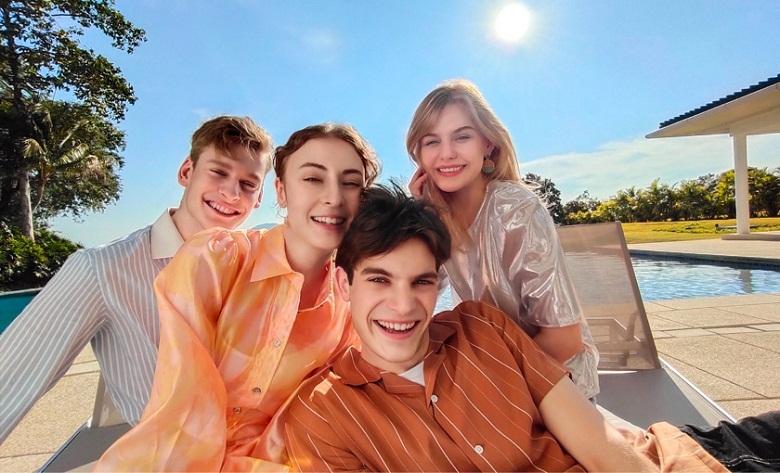 Camera selfie- điện thoại Vivo Y50 8GB/128GB đen