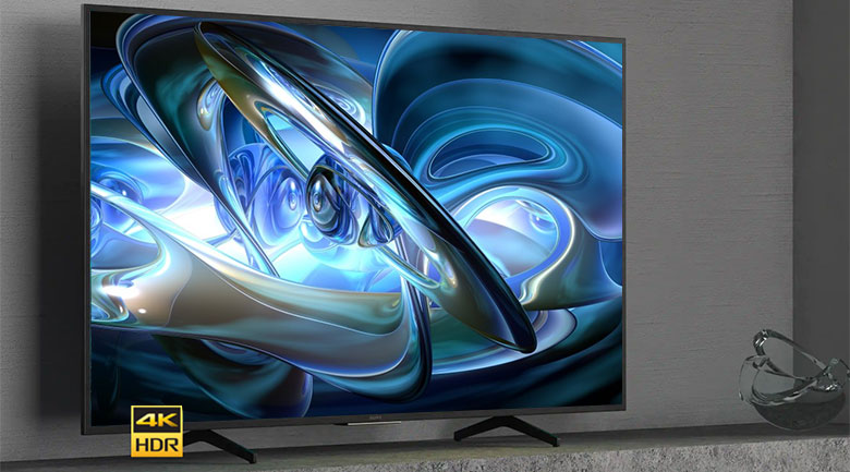 Thiết kế thanh lịch - Android Tivi Sony 4K 55 inch KD-55X7500H
