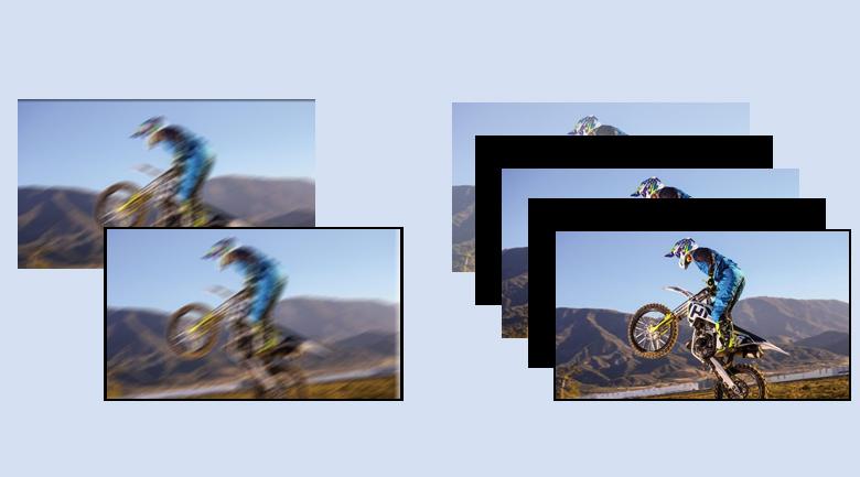 Công nghệ hình ảnh mượt mà - Android Tivi Sony 4K 49 inch KD-49X7500H