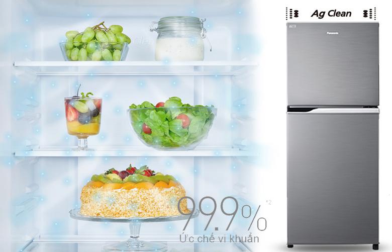 Tủ lạnh Panasonic Inverter 234 lít NR-BL263PPVN kháng khuẩn Ag Clean