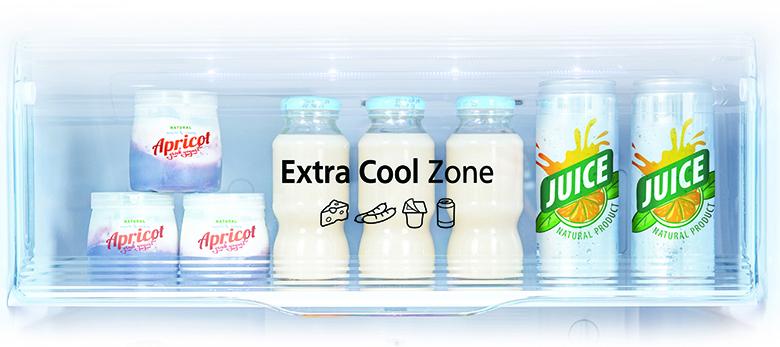 Tủ lạnh Panasonic Inverter 234 lít NR-BL263PPVN extra cool