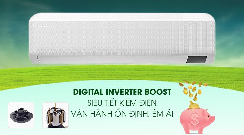 Tiết kiệm điện -Điều hòa Samsung 1 chiều Inverter 21500BTU AR24TYGCDWKNSVV