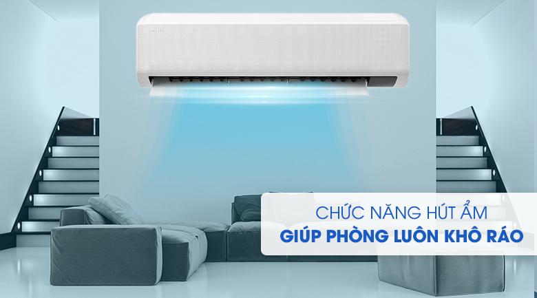 Chức năng hút ẩm - Điều hòa Samsung 1 chiều Inverter 21500BTU AR24TYGCDWKNSV