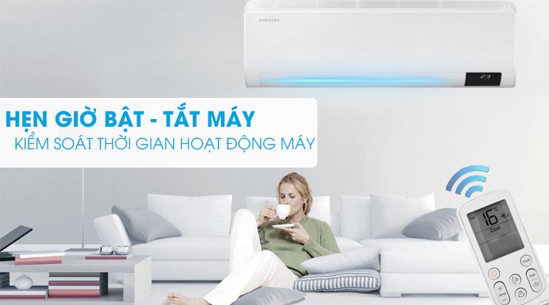 Hẹn giờ tiện lợi - Điều hòa Samsung 1 chiều Inverter 21500BTU AR24TYGCDWKNSV