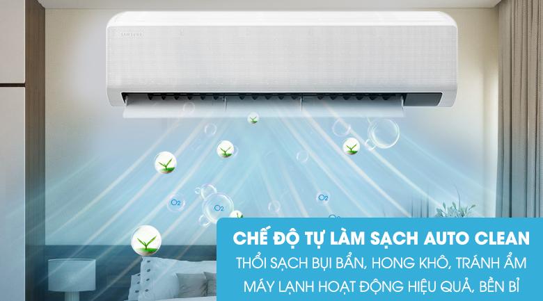 Tự động làm sạch - Điều hòa Samsung 1 chiều Inverter 21500BTU AR24TYGCDWKNSV
