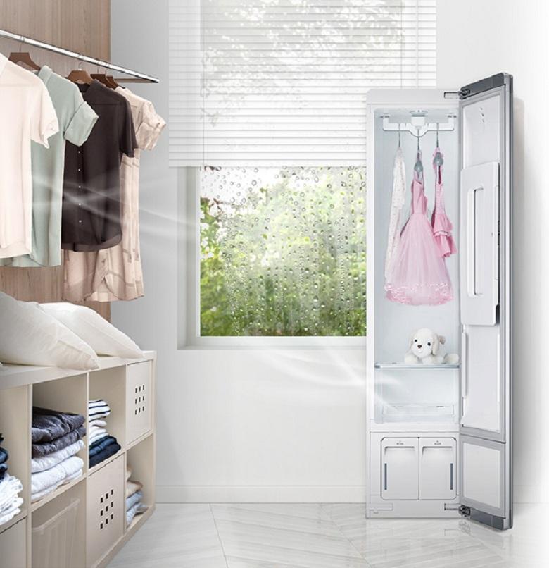 Hút ẩm-Tủ chăm sóc quần áo LG S3WF