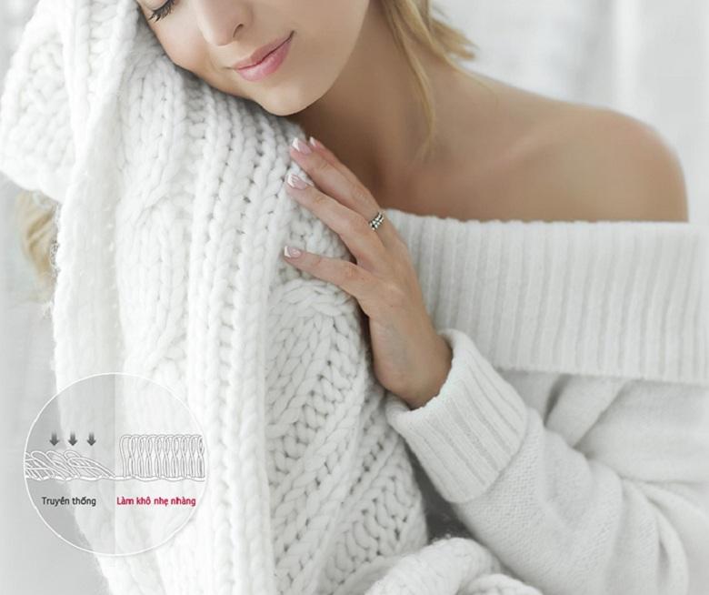 Ngăn ngừa co rút và hư hỏng quần áo-Tủ chăm sóc quần áo LG S3WF
