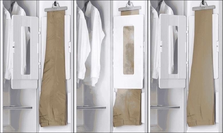 Tạo nếp-Tủ chăm sóc quần áo LG S3WF