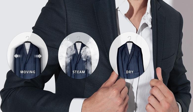TrueSteam™-Tủ chăm sóc quần áo LG S3WF