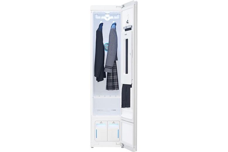 Loại bỏ nếp nhăn và mùi khó chịu-Tủ chăm sóc quần áo LG S3WF
