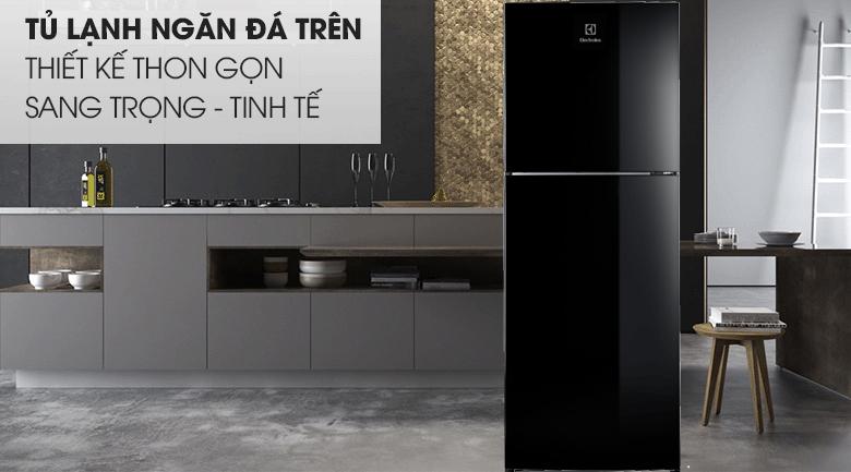 Tủ lạnh Electrolux Inverter 256 lít ETB2802J-H thiết kế thon gọn