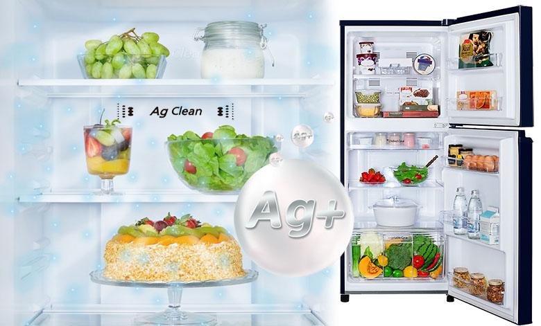 Tủ lạnh Panasonic Inverter 167 lít NR-BA189PKVN kháng khuẩn agclean