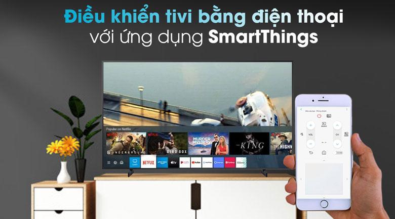 SmartThings - Tivi QLED Samsung QA55LS03T