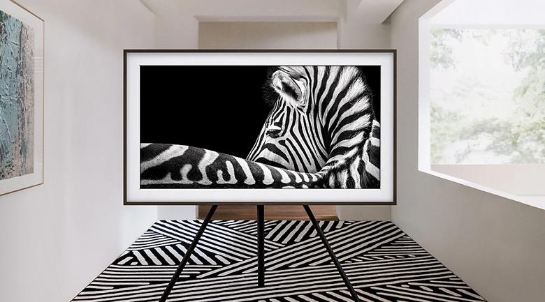 Chế độ hình nền - Smart Tivi QLED Samsung 4K 55 inch QA55LS03T