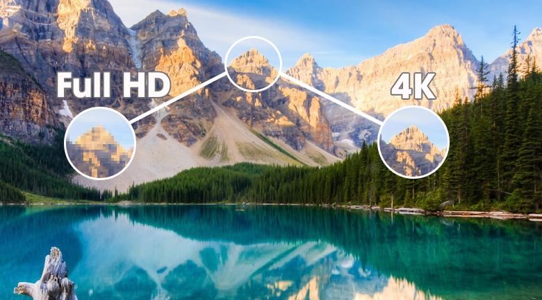 Độ phân giải 4K xem thích mắt chỉ có ở Smart Tivi The Sero QLED Samsung QA43LS05TAKXXV