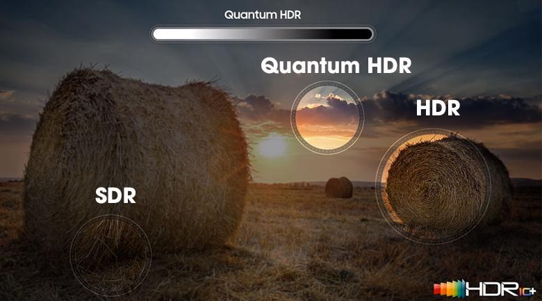 Smart Tivi The Sero QLED Samsung 4K 43 inch 43LS05T nhờ công nghệ HDR10+