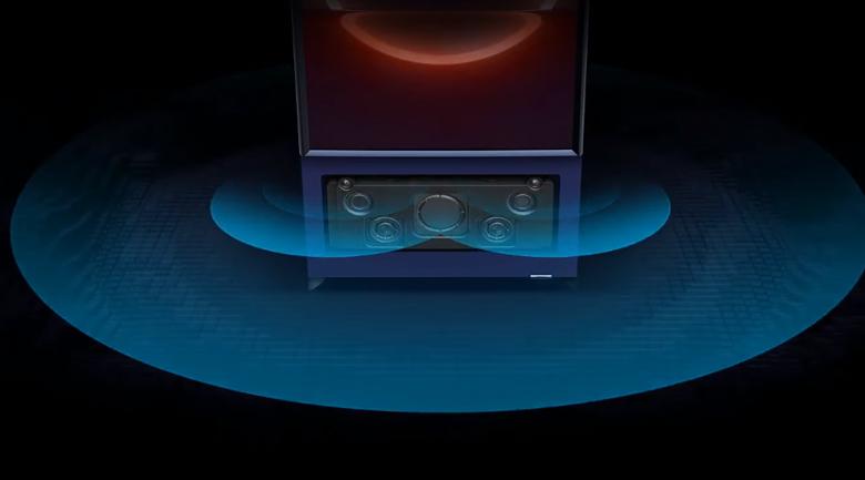 Trải nghiệm âm thanh mạnh mẽ - Samsung 4K 43 inch QA43LS05T TV chưa từng có