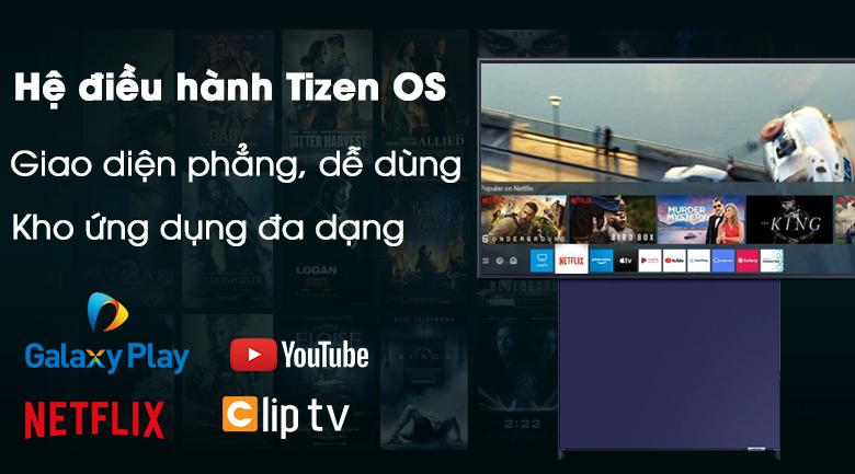 Hệ điều hành Tizen OS luôn được sử dụng trong Smart Tivi Samsung 43LS05T