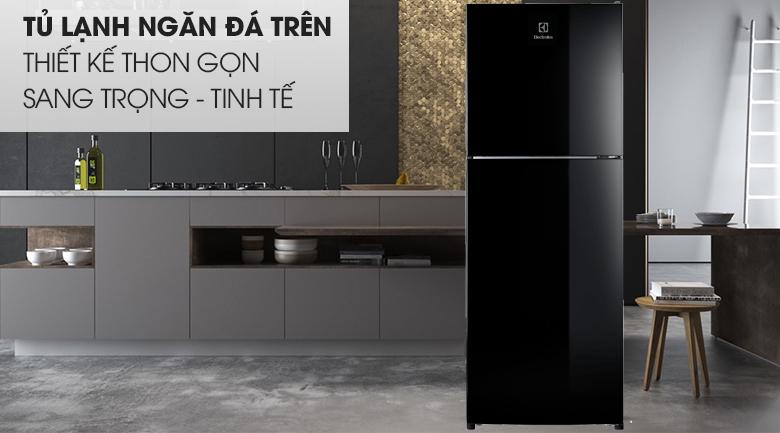 Tủ lạnh Electrolux Inverter 225 lít ETB2502J-H thiết kế thon gọn