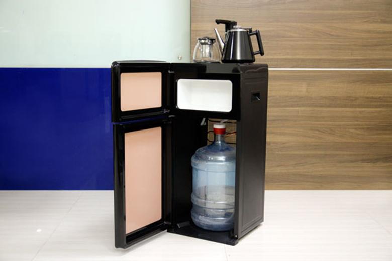 Cây nước nóng lạnh kết hợp bàn trà FujiE WD1170C bình lắp âm