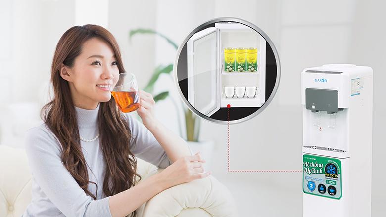 Cây nước nóng lạnh Karofi HC16 khoang chứa đồ