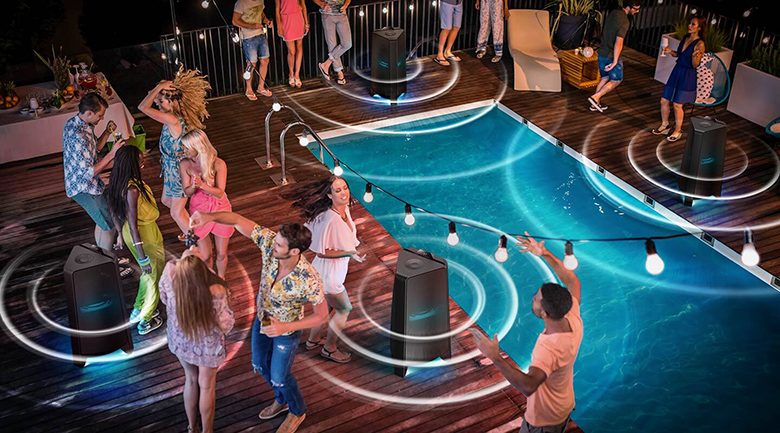 Tính năng Group Play - Loa tháp Samsung MX-T50/XV