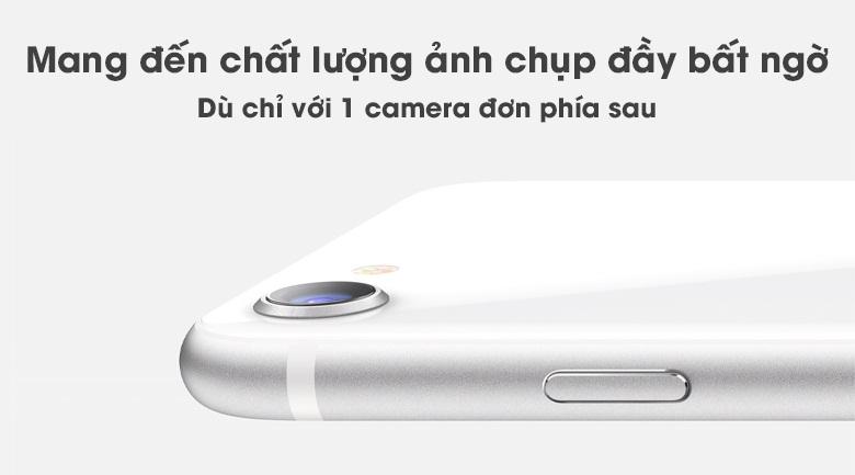 Camera đơn-Điện thoại iPhone SE 2020 3GB/128GB White
