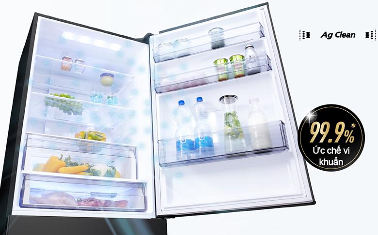 Tủ lạnh Panasonic Inverter 410 lít NR-BX460XKVN - Ag Clean