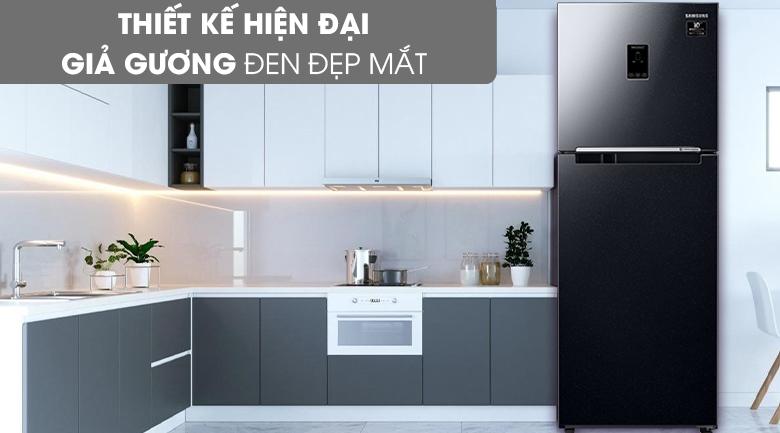 Tủ lạnh Samsung Inverter 300 lít RT29K5532BU/SV - mặt tủ giả gương