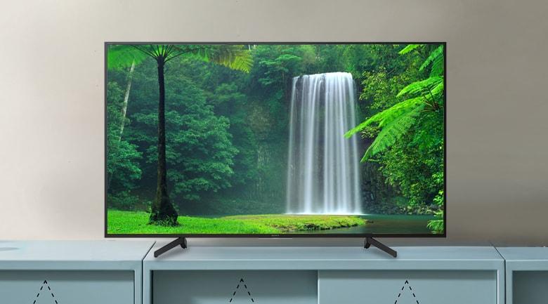 Tivi hãng nào tốt nhất: Android Tivi Sony 4K 49 inch KD-49X8000G