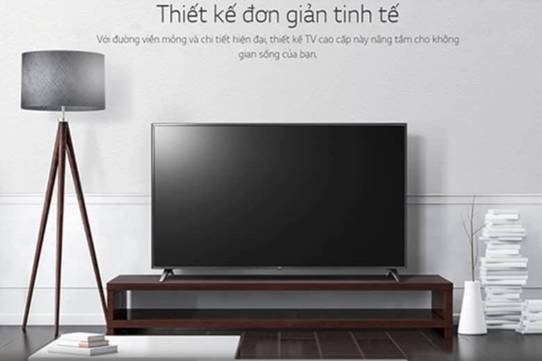 Tivi hãng nào tốt nhất: Smart Tivi LG 4K 49 inch 49UM7100PTA