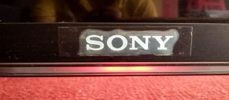 tivi Sony đỏ nháy 6 nhịp