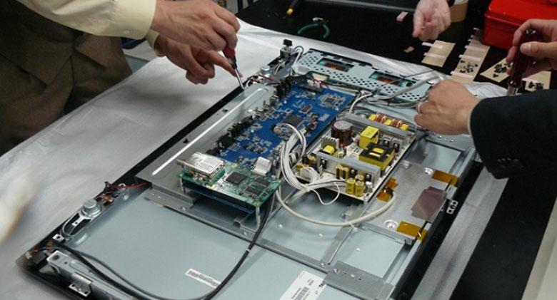 tivi Sony nháy 6 nhịp sửa chữa