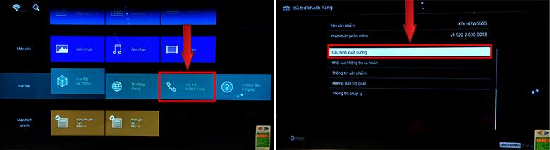 tắt chế độ Demo trên tivi Sony - smart tivi sony 2019